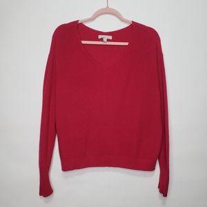 Chelsea 28 cashmere blend v neck sweater